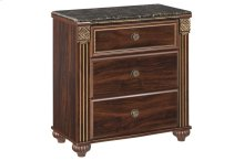 B347 Three Drawer Nightstand (Gabriela)