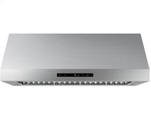 "Modernist 48"" Wall Hood, Graphite Stainless Steel"