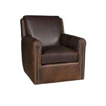 Austin Leather Swivel, Austin Leather Ottoman
