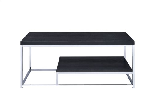 "Lucia Cocktail Table,Cappuccino 47""x24""x20"""