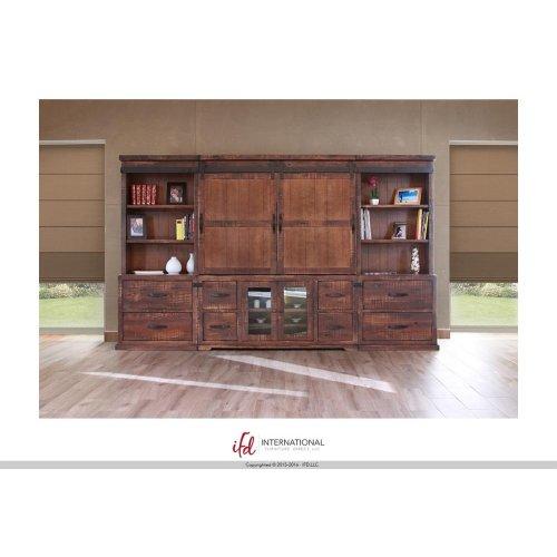 2 Drawer, 2 Storage Shelves Right pier