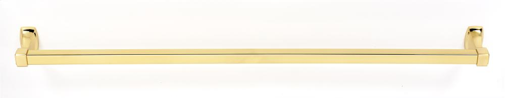 Cube Towel Bar A6520-30 - Polished Brass