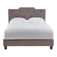 5/0 All-in-One Uph Bed Taupe Fabric