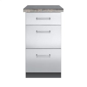 "Viking30""D. Base Cabinet - VBO1830 Outdoor Stainless Steel Cabinets"