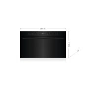 "30"" E Series Contemporary Drop-Down Door Microwave Oven"