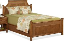 Summer Retreat Arched Queen Bed