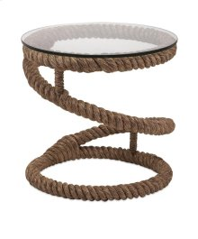 Bedford Jute Rope Accent Table