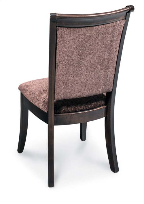 Empire Side Chair, Leather Cushion Seat