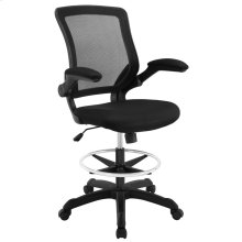 Veer Drafting Chair in Black