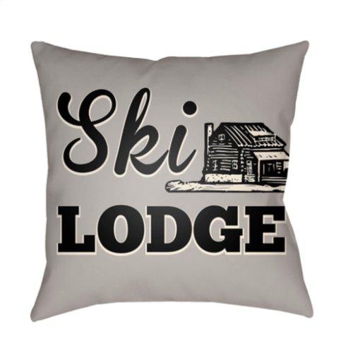 "Lodge Cabin LGCB-2039 20"" x 20"""