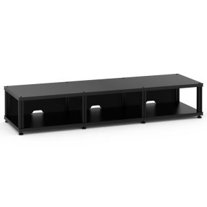 Salamander DesignsSynergy 10 Triple-Width Core Module, Black with Black Posts