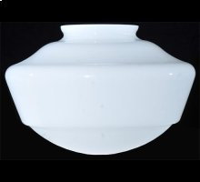 """9""""W Revival Schoolhouse Traditional Glode 4"""" Neck Shade"""