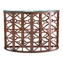 Modern Heritage Demilune Console Table