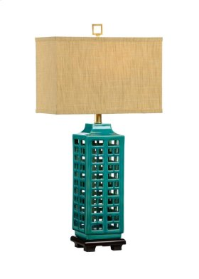 Khai Lamp-turquoise