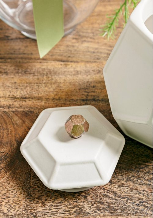 TY Songbird Geometric Canisters - Set of 3