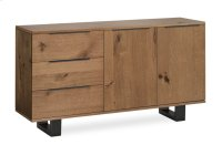 Tea Tree Small Sideboard Metal Base Product Image
