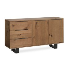 Tea Tree Small Sideboard Metal Base