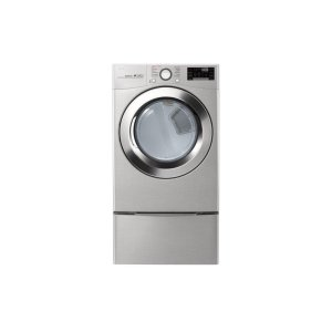 LG 鸭博娱乐s7.4 cu. ft. Ultra Large Capacity Smart wi-fi Enabled SteamDryer™