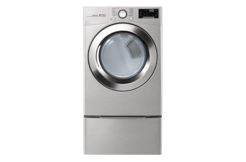 7.4 cu. ft. Ultra Large Capacity Smart wi-fi Enabled SteamDryer [OPEN BOX]