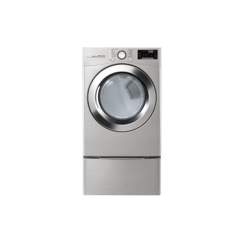 7 4 cu  ft  Ultra Large Capacity Smart wi-fi Enabled SteamDryer