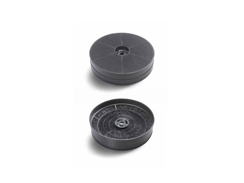 Charcoal Filter Kit for model Hoods KU PRO /14 Black