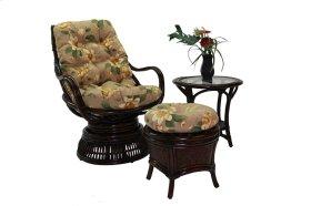 Bali Round Ottoman w/Cushion