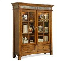 Craftsman Home Door Bookcase