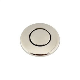 SinkTop Switch Button - Polished Nickel