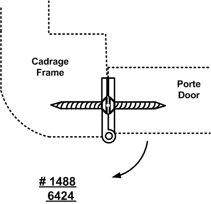 Additional Paumelle Hinge for Cabinet