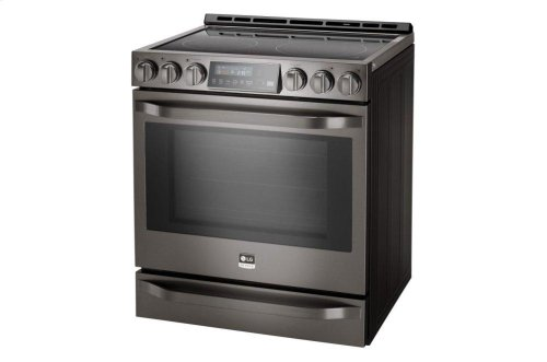 LG STUDIO 6.3 cu. ft. Smart wi-fi Enabled Electric Slide-in Range with ProBake Convection®