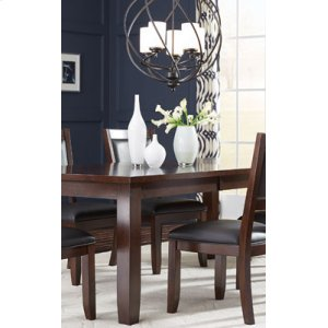 Leg Table, W 18 In. Leaf