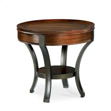 Sunset Valley Round End Table