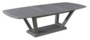 Emerald Home Carrera Butterfly Leaf Dining Table Slate D905-10-k