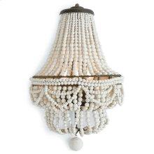 Malibu Sconce (weathered White)