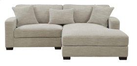 Lsf Chair-rsf Chaise W/3 Pillows Silver