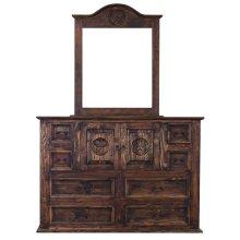 Medio Mansion Dresser W/Star