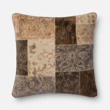 O Patch Pillows Neutral Pillow