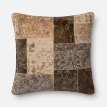 O Patch Pillows Neutral Pillow