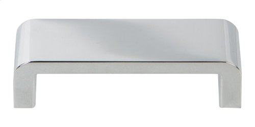 Platform Pull 3 3/4 Inch - Polished Chrome
