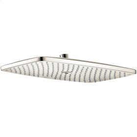 Polished Nickel Raindance E 360 AIR 1-Jet Showerhead, 2.5 GPM