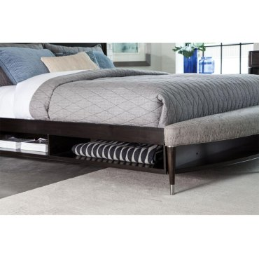 Vibe Panel Bed Queen Size With Bench and Storage