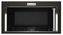 1000-Watt Convection Microwave Hood Combination - Black Stainless