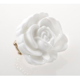 BTQ White Rose Ring