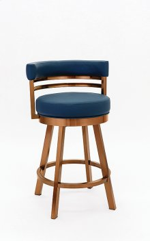 Miramar Copper Stainless Steel Bar Stool