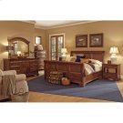 Queen Sleigh Bed Footboard Product Image