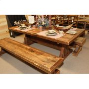 Stony Brooke - Trestle Bench - (4′) Product Image