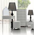 Whelk Modern White Vanity Table Product Image