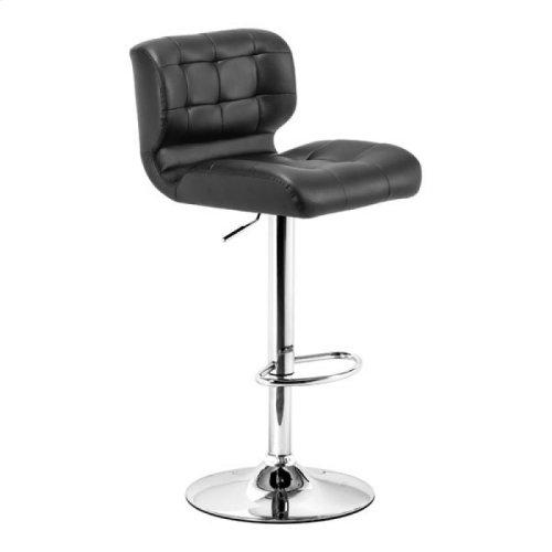 Formula Bar Chair Black