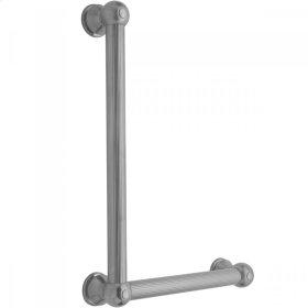 White - G33 16H x 12W 90° Right Hand Grab Bar