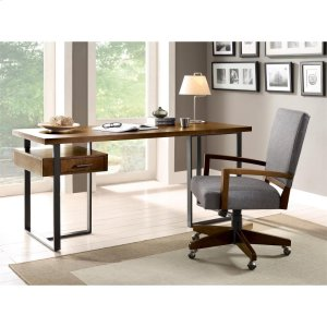 RiversideTerra Vista - Return Desk - Casual Walnut Finish